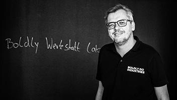 Andreas Jamm, CEO und Gründer von BOLDLY GO INDUSTRIES, Disruptive Champion