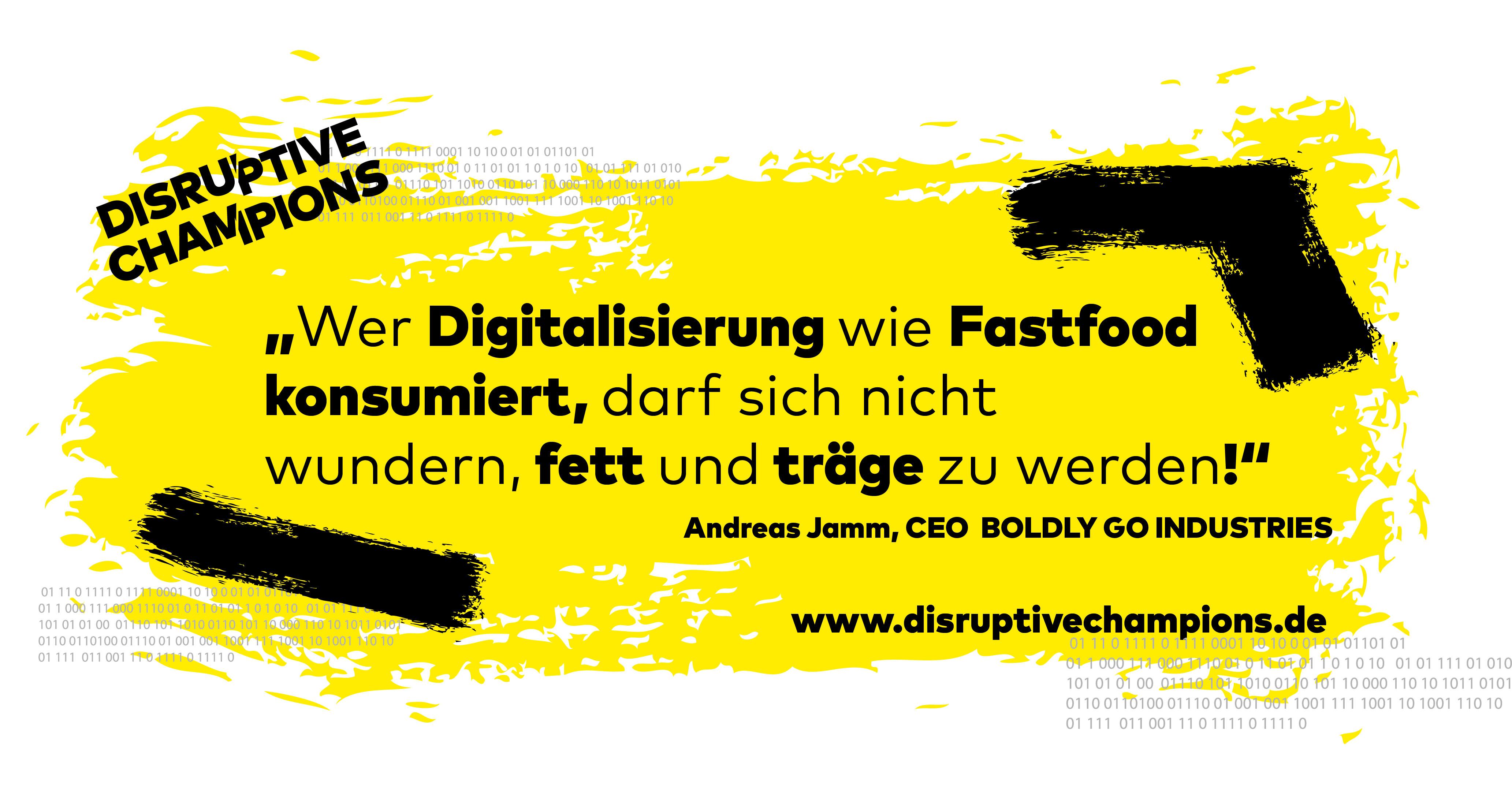 Disruptive Thought, Digitalisierung