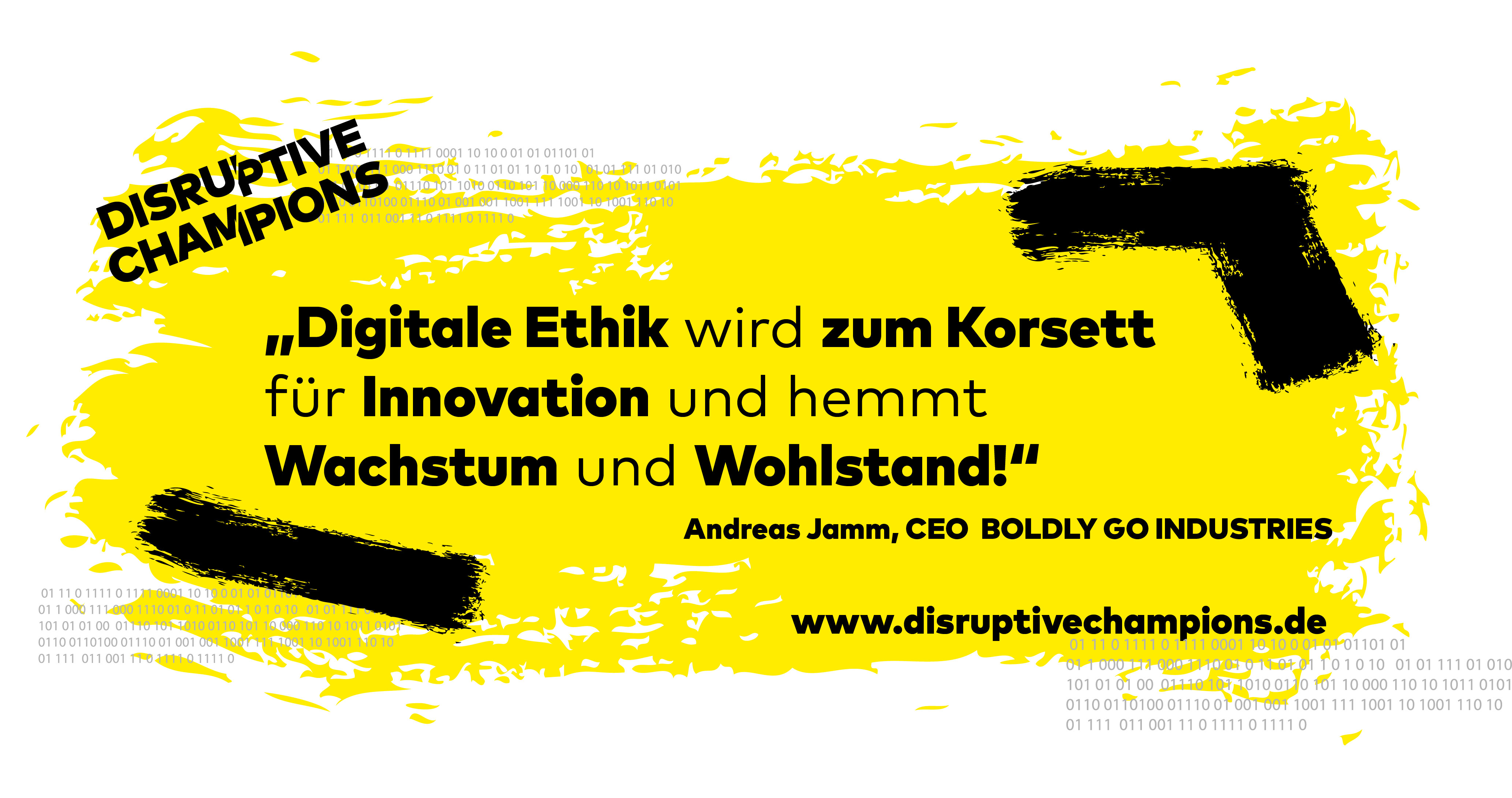 Disruptive Thought, Digitalisierung, Innovation